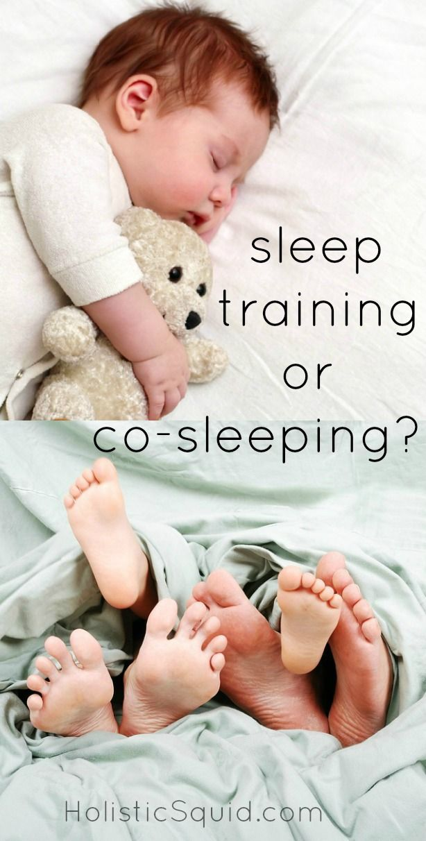 Co-Sleeping vs. Sleep Training: The Great Debate... (I vote middle ground! Read the baby whisper!)