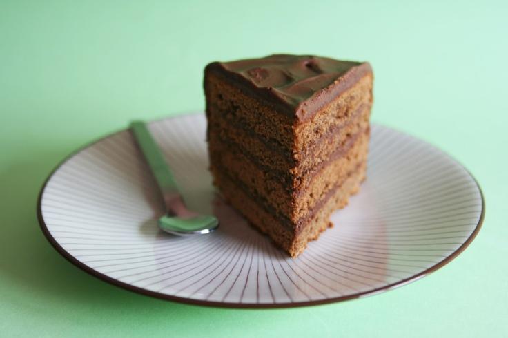 Mocha Layer Cake | Cake Recipes | Pinterest