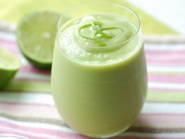 Avocado and Coconut Water Smoothies Recipe from Betty Crocker