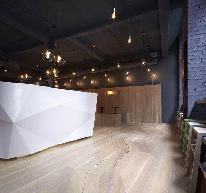 Yoobi Sushi by Gundry & Ducker Architecture.