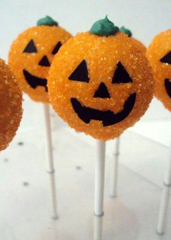 Halloween popcakes