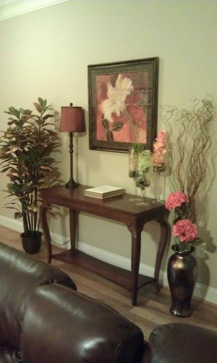 Front Entry Table Decor Photograph Our C