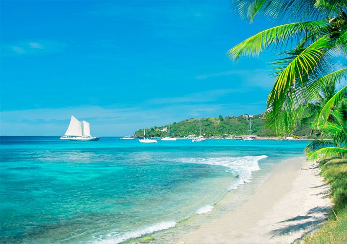 Pin by air canada vacations on best of the caribbean for White sand beach vacations