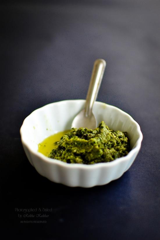 Basic Recipes: Basil Pesto - My Tasty Curry