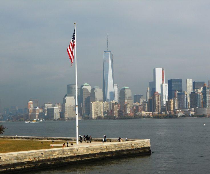 Downtown Manhattan from Liberty Island | New York 2013 | Pinterest Newyork