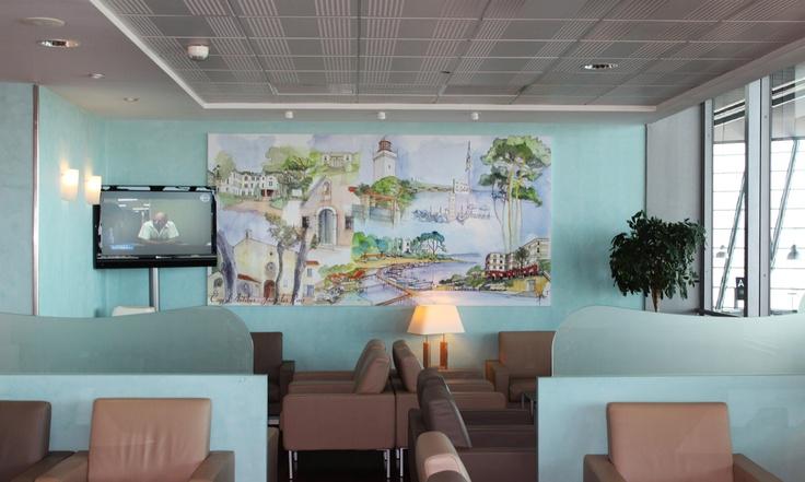 The Salon Du Cap D'antibes at France Nice - Côte D Azur Terminal 2