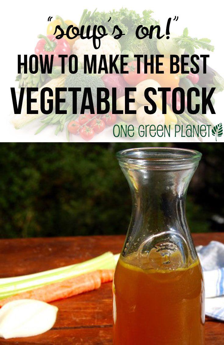 How to Make The Best Vegetable Stock Recipe http://onegr.pl/SQslsH # ...