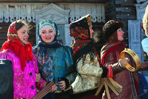 Russian folklore group