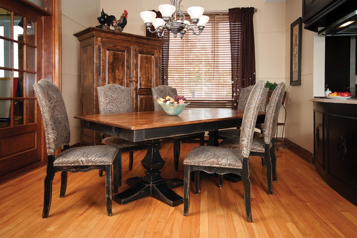 Canadel Champlain Dining Canadel Custom Dining Furniture