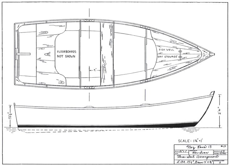 Small Wood Boat Plan | Boat plans | Pinterest