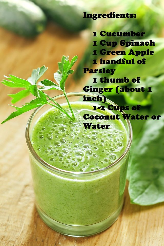 Ginger and Green Apple Smoothie | Food & Drink | Pinterest
