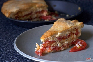 Tomato and Corn Pie — Recipe from Smitten Kitchen