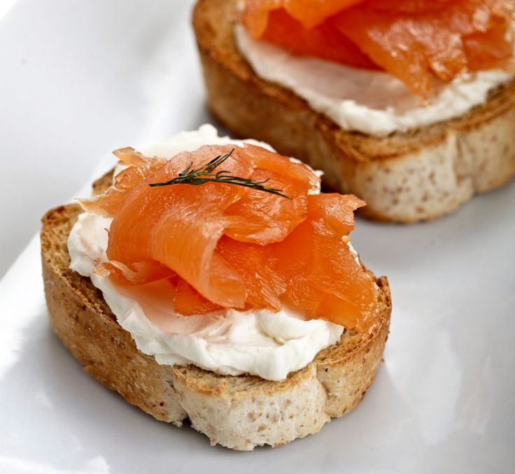 smoked salmon and goat cheese smoked salmon and goat cheese toasts