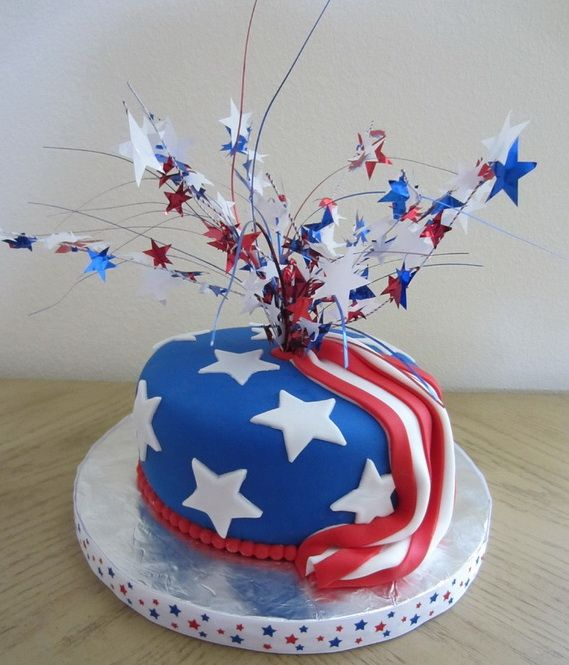memorial day cakes pictures