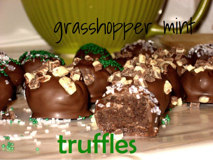 Mint Truffle Fudge Recipe — Dishmaps