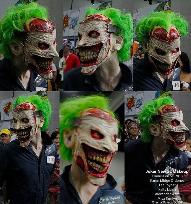 new 52 joker how to make costume horns