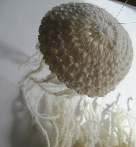 Crochet Jellyfish : crocheted jellyfish Crochet ? Pinterest