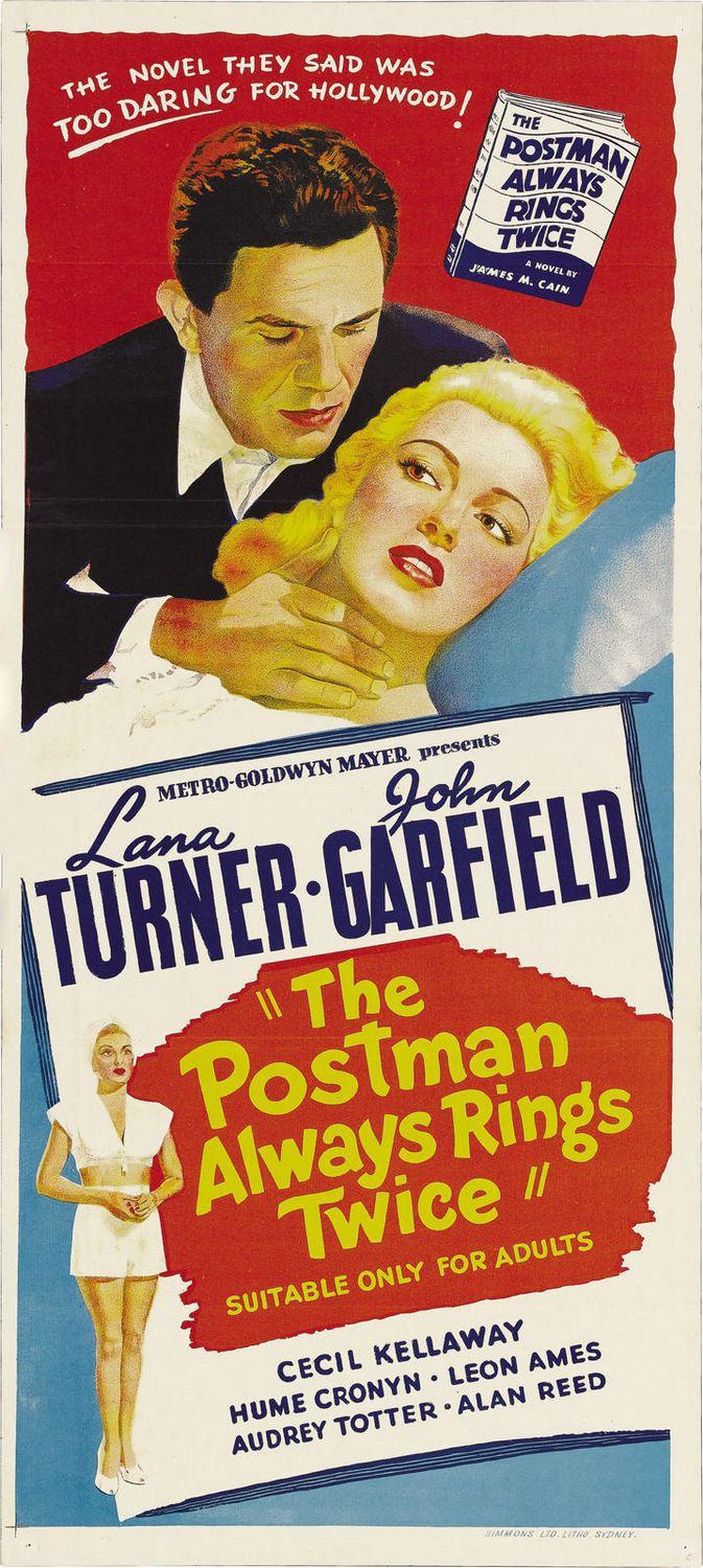 the postman always ring twice The postman always rings twice is a 1981 american drama film directed by bob  rafelson and written by david mamet (in his screenwriting debut) starring.