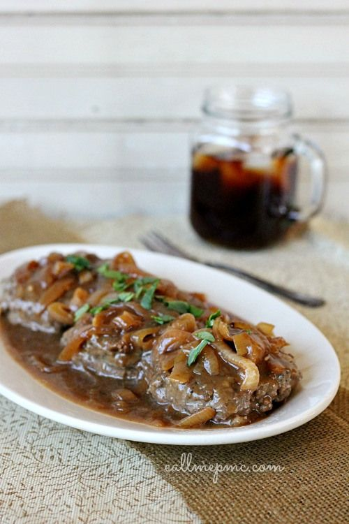 ... like this: brown gravy recipe , hamburger steaks and gravy recipe