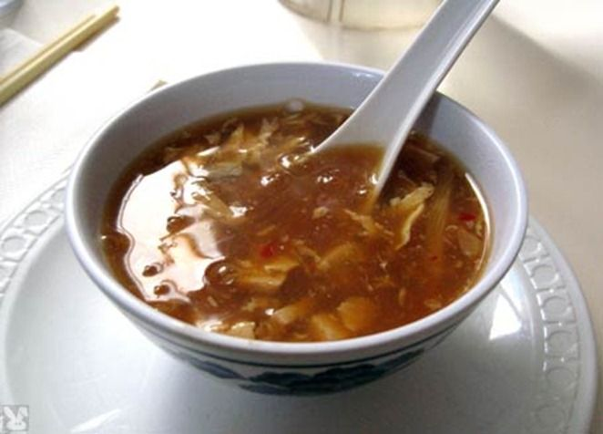 How to Make Hot and Sour Soup #stepbystep