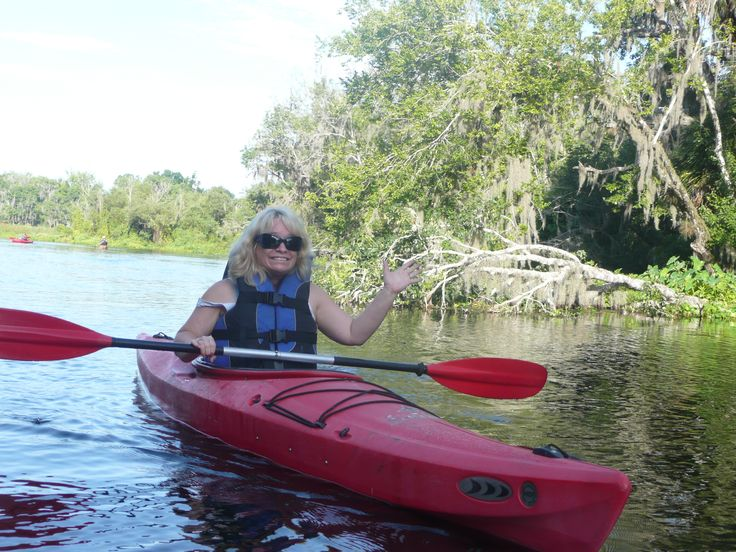 Kayaking Wekiva River Florida