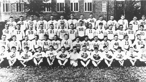 1934 Bama National Championship Team