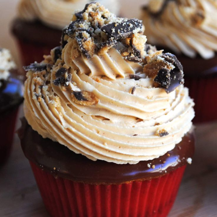 Tagalong cupcakes are the latest way to feed your Girl Scout Cookie ...