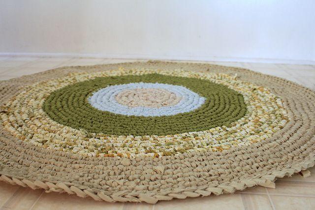 Crocheting Rag Rugs : crochet rugs