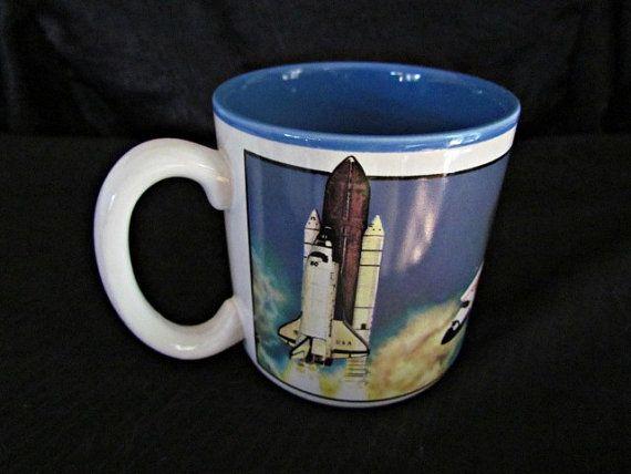 NASA Space Shuttle Astronaut Coffee Mug Coffee Cup Kennedy ...
