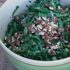 Kale Salad With Bagna Cauda Vinaigrette | Salads | Pinterest