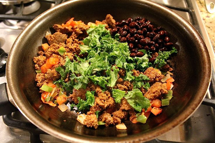 Venison, Kale and Black Bean tacos! 1 gram of fat and 21 grams of ...