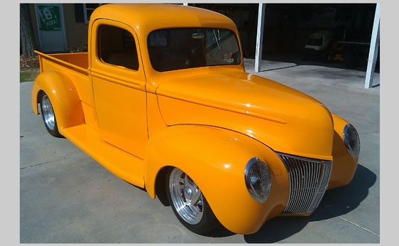 1940 ford custom street rod pickup vintage pick up trucks pintere. Black Bedroom Furniture Sets. Home Design Ideas