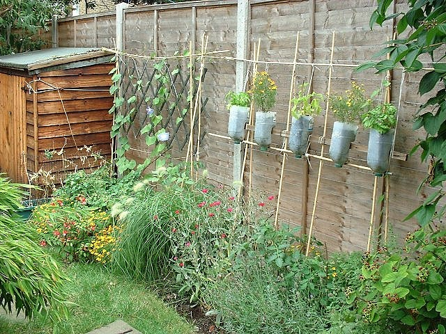 Homemade Vertical Garden Outdoor Inspiration Pinterest