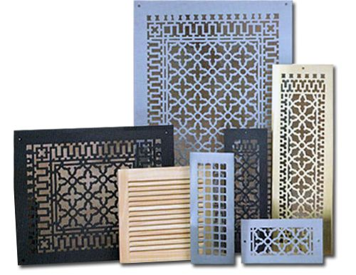 Decorative air return and vent covers good to know pinterest - Decorative wall vent ...