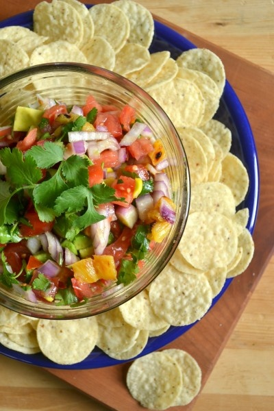 Grilled Pineapple Salsa....Great summertime flavors