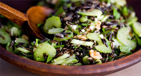 Recipes for Health - Wild Rice Salad With Celery and Walnuts - NYTimes ...