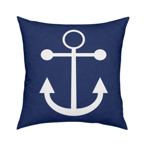 Cute Navy Pillow : Navy Anchor Pillow - cute anchor shape cute! Pinterest