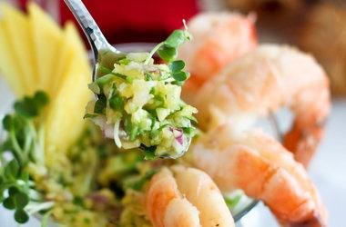 Shrimp Cocktail with Mango Avocado Salsa | snacks and entertaining ...