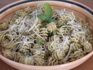 ... Living: So Simple - Fresh Genovese Basil Pesto Pasta with Peas