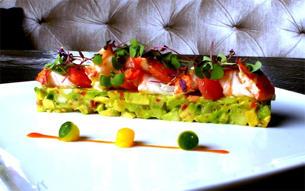 Lobster & avocado salad | Treasures of the Deep | Pinterest