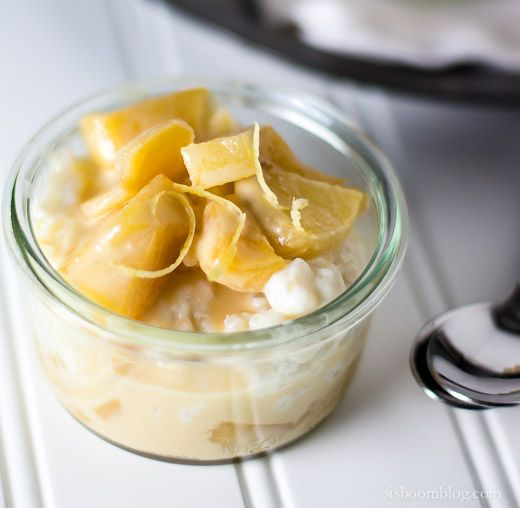 Rice Pudding and Caramel Apples | Recipe