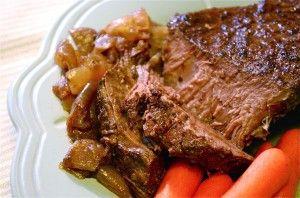 Balsamic & sweet onion pot roast | MM MM Comfort Food Eats... | Pinte ...