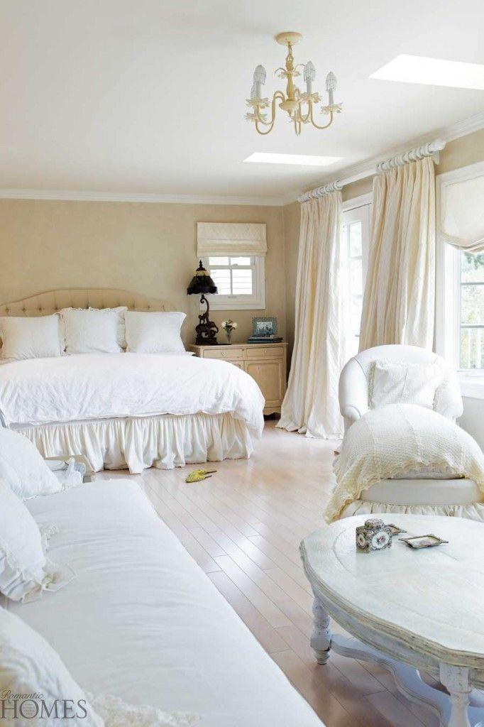 White Bedroom I Love The Combo Of White Cream
