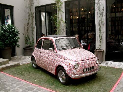 pattern car wrap