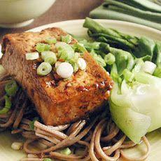 Teriyaki Tofu Steaks with Soba Noodles | Food | Pinterest