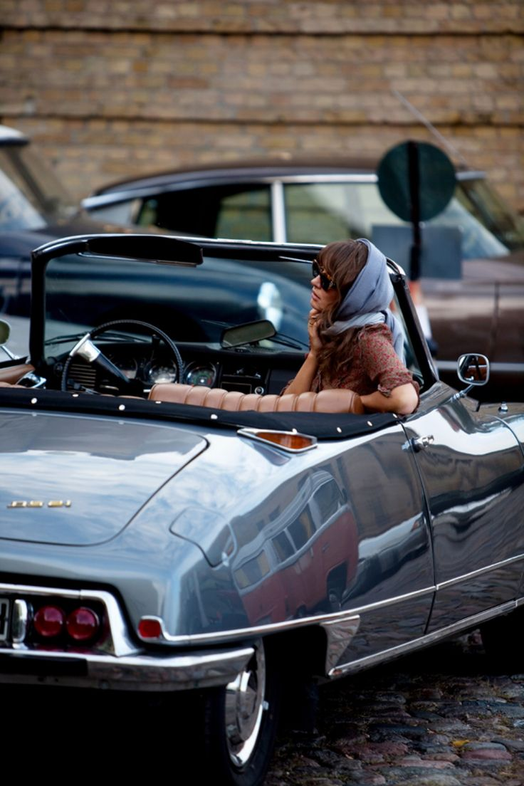 vintage, automobile, car