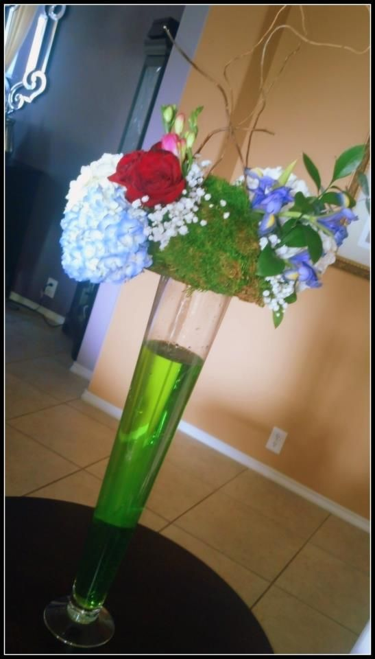 Elegance Fresh Flower Centerpieces For Weddings And Other Events