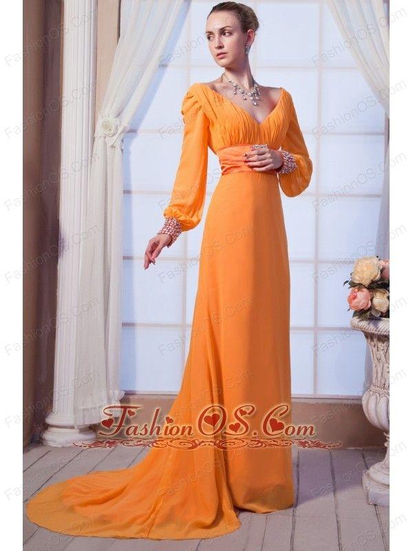 Pin by debra quinn on wedding pinterest for Light orange wedding dresses