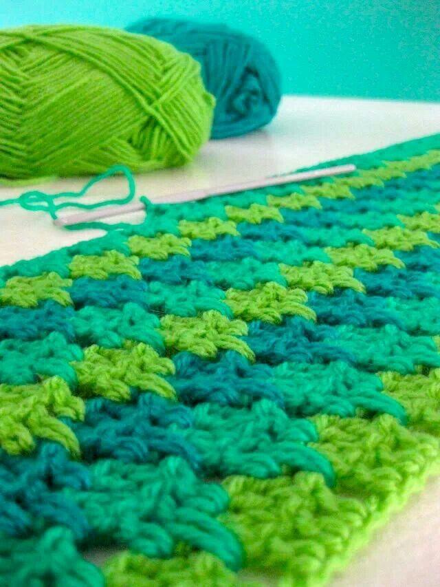 Crochet Stitches Larksfoot : Larksfoot stitch