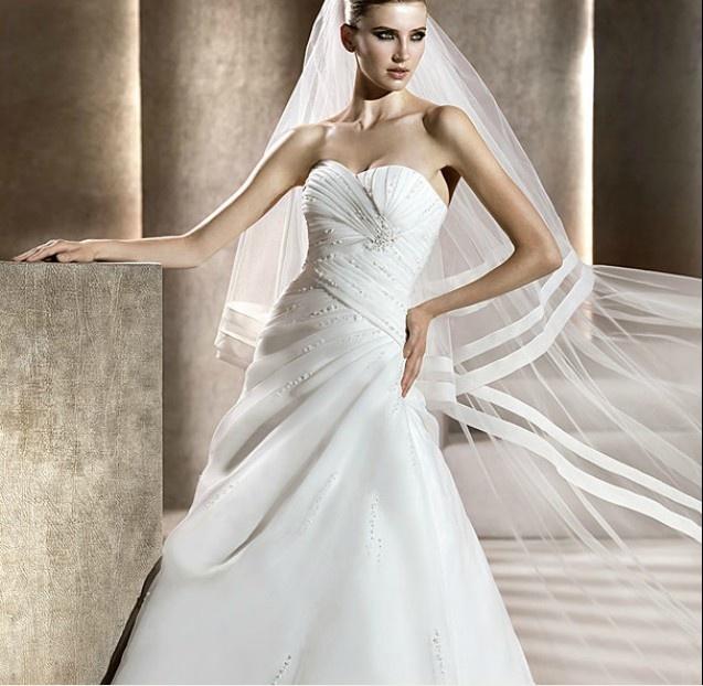 explore polka wedding dress